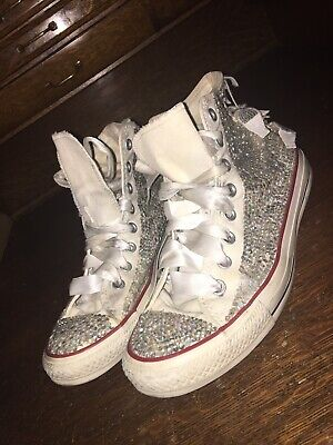 converse all star chuck taylor Unisex Shoes 7.5 M 9.5 W With Stones See Descript