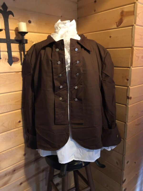 Colonial 18th Century Outlander Coat