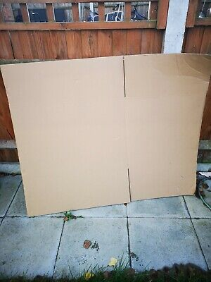 Extra Large 4 moving storage Cardboard Boxes