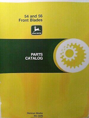 John Deere Lawn Garden 120 140 300 400 420 317 318 54 56 Dozer Plow Parts Manual