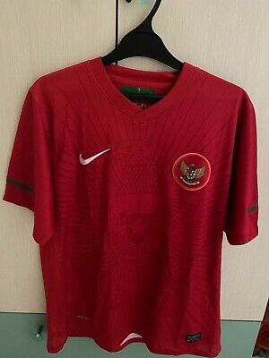 2010-2012 Indonesia National Football Soccer Jersey Shirt Home Nike S image