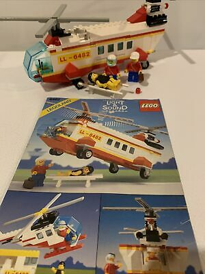 LEGO 6482 Rescue Helicopter - Vintage - 100% Complete w/ Instructions
