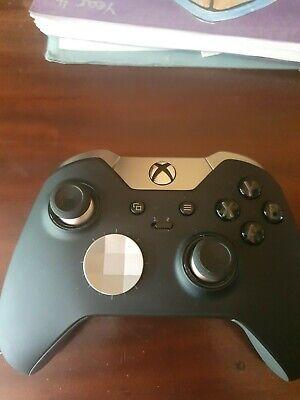 Microsoft Xbox Elite Wireless Controller - Black (HM3-00001) Great Condition