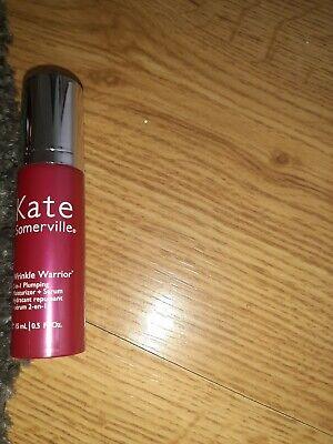 Kate Somerville Wrinkle Warrior 15ml 2 in 1 Moisturiser Serum New Fresh