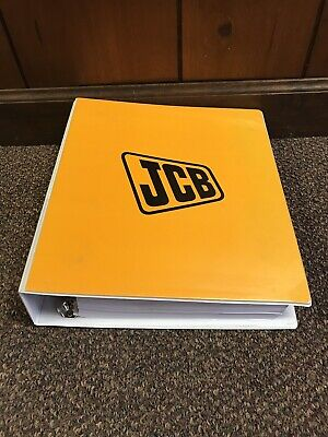 Genuine Original Jcb 630 Loader Backhoe Repair Shop Service Manual