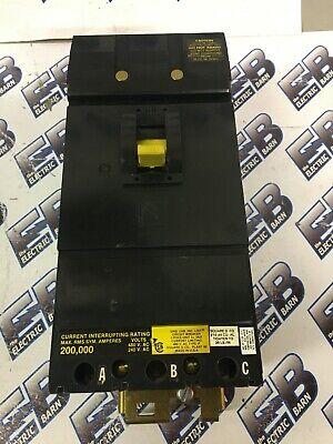 Square D If34020 20 Amp 480 Volt 3 Pole 200k Breaker-test Reportwarranty
