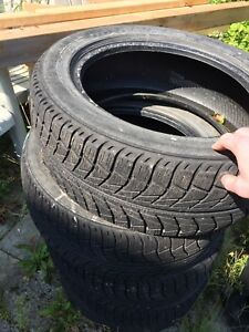 Winter tires for sale  - 4 used winter tires