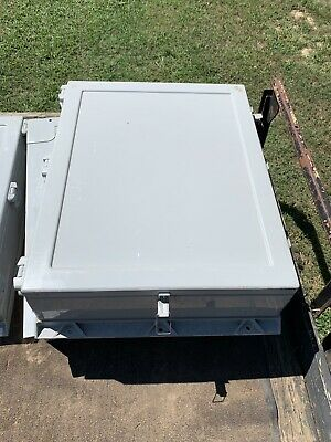 Hoffman Fiberglass Electrical Hinged Enclosure Wall Mount 30h2406gqrlp Unused