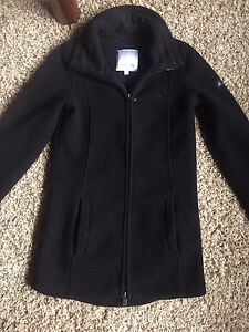 Black Bench Sweater. XS. All zipper front