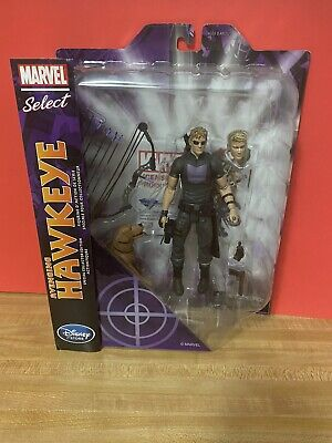 Marvel Select Avenging Hawkeye Lucky the Pizza Dog Disney Store Exclusive Figure