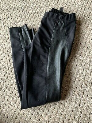 karl lagerfeld Leather Leggings XL