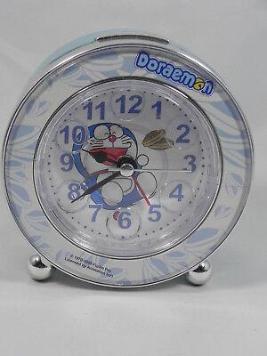 Fujiko Pro Japan DORAEMON Alarm Clock with Music & Light, Snooze