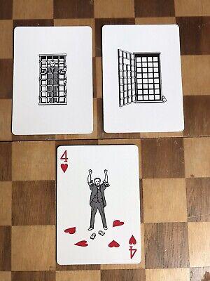 Magic Trick: DMC Gaff Card - Houdini Escape With FREE Video Tutorial