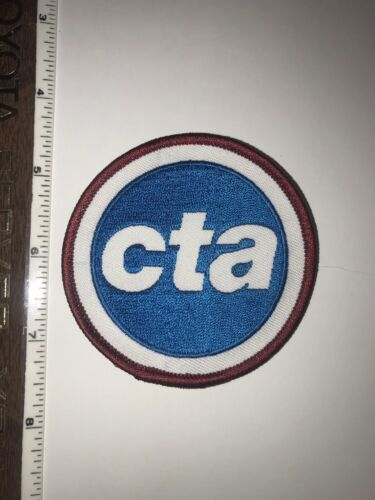 CTA Chicago Transit Authority  Chicago Illinois shoulder patch New