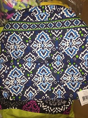 Vera Bradley Ditty Bag NWT Blue pattern