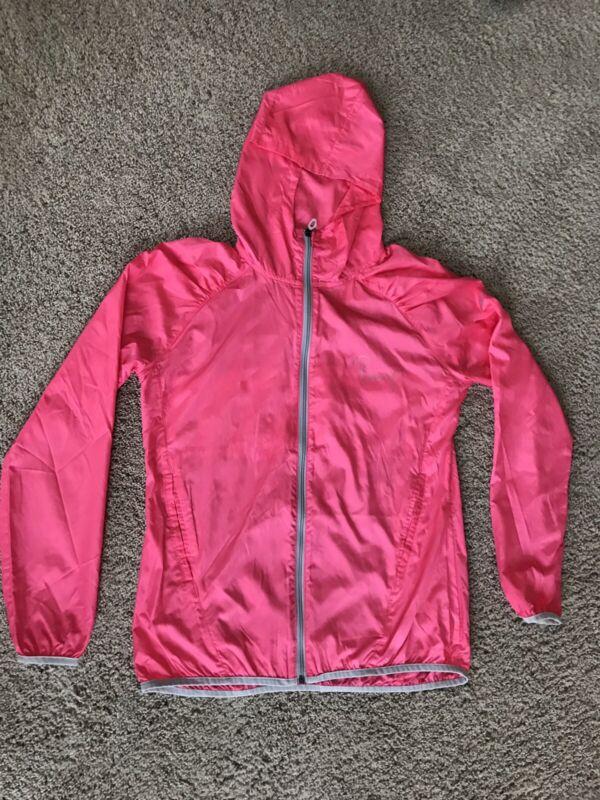 Under Armour Womens Full Zip Jacket Semi Fitted All Season Gear Pink M MEDIUM