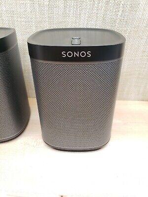 Sonos Play:1 Wireless Compact Streaming Smart Speaker Black MINT!