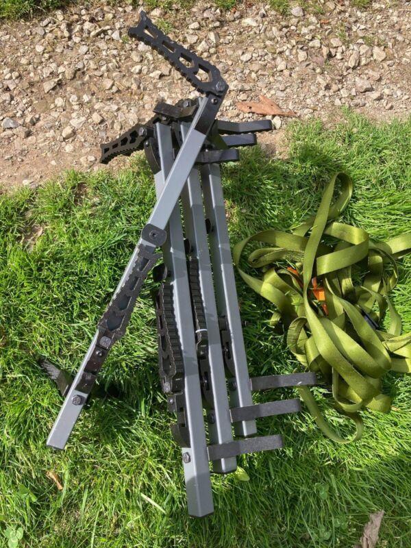 XOP 4 Pack Grey Climbing Sticks Storm Grey Hunting