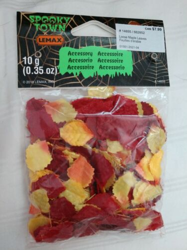 Lemax Spooky Town Loose Maple Leaves 14855 2018 3+ 20% off