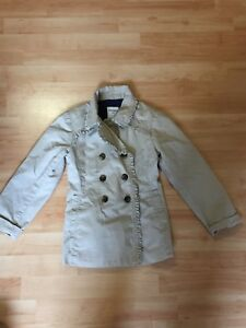 Girls' Spring Coat size 6/7 Old Navy