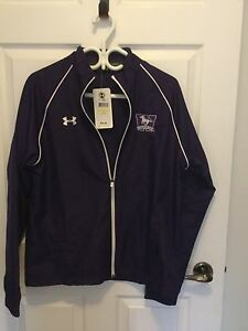 Under Armour purple Western UWO jacket brand-new