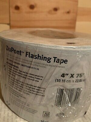 New 1 Roll 4 -75 Dupont Flashing Tape Doors Windows And Other Penetrations