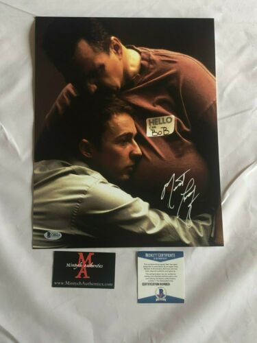 MEAT LOAF AUTOGRAPHED SIGNED 11x14 PHOTO! FIGHT CLUB! BECKETT COA!