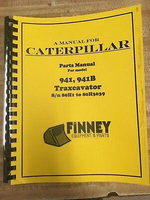 Cat Caterpillar 941 941b Crawler Loader Parts Manual Book 80h 1- 3039 Ue070113