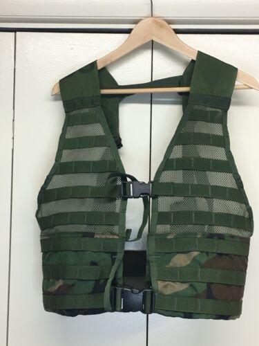 USGI MOLLE II Vest Fighting Load Carrier FLC Woodland Camouflage