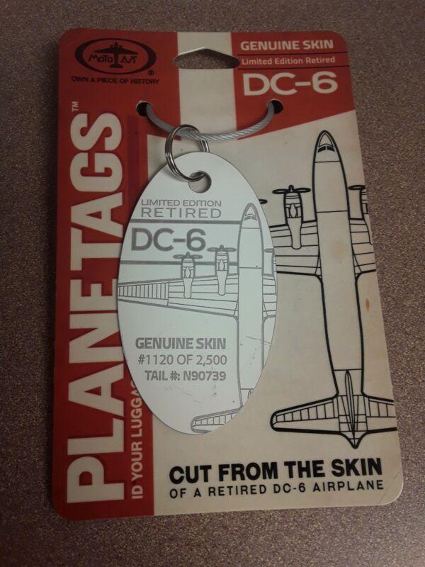Douglas DC-6 American Airlines Plane Tag / Planetags - Free Shipping