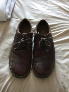 Size 13 Brown/Burgundy casual Shoes