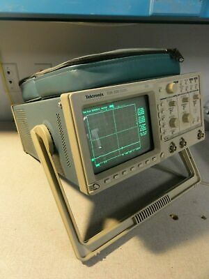 Tektronix Tds320 2 Channel Digital Oscilloscope 100 Mhz 500 Mss W Printer