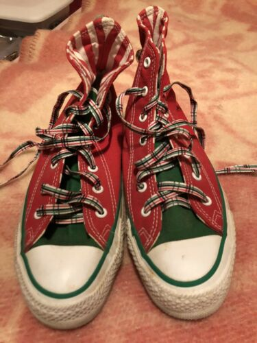 converse all star chuck taylor Christmas Shoes high top