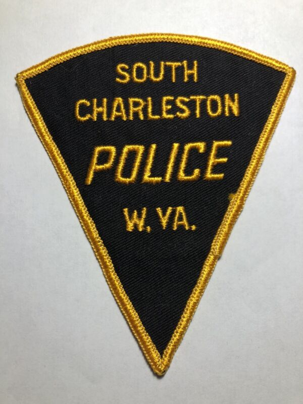 Vintage South Charleston West Virginia Police Patch