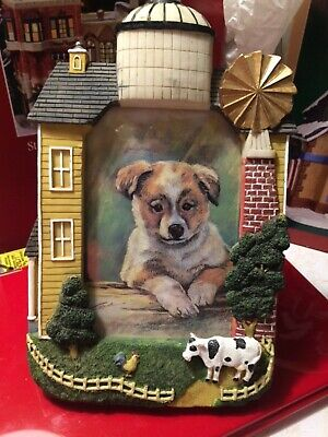 CB Dog/farmhouse  Picture Frame 4x6 Vertical Tabletop (Dog Picture Frame Vertical)
