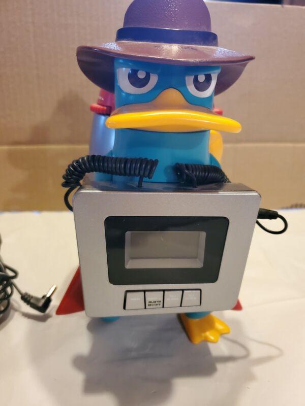 Disney Phineas and Ferb Perry the Platypus Awake-inator Alarm Clock Radio