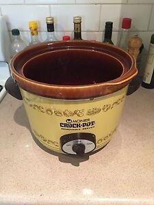 Monier Vintage Crock Pot 5.5L Slow Cooker Manly Manly Area Preview