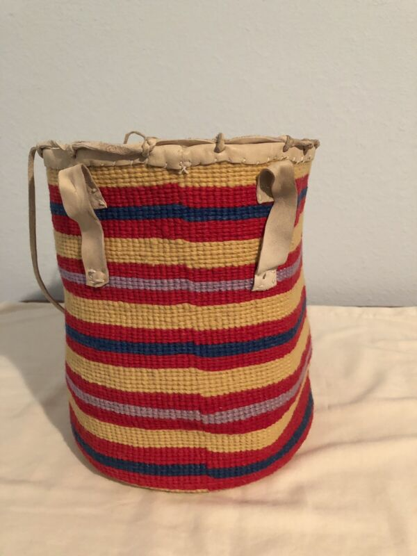 Authentic Vintage Native American Sally Bag