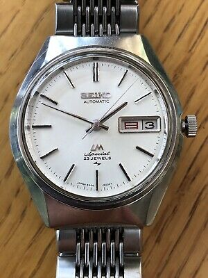 Seiko vintage automatic Lord Matic Special 23 Jewels 5206-7052 October 1972
