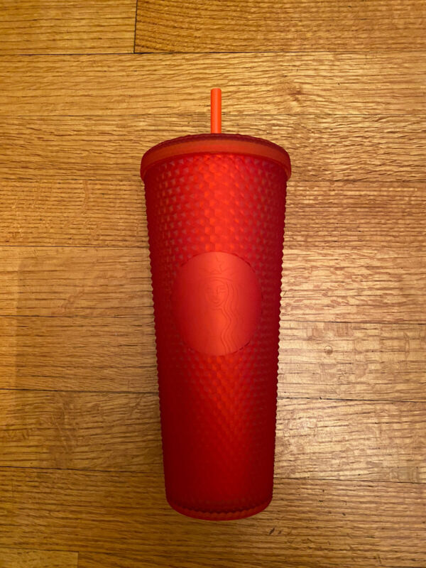 Starbucks Red Matte Studded Tumbler - NEW - 2021 Release- 24oz