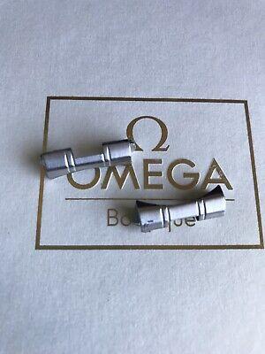 Authentic 2x Omega 20mm End Link For 1479 / 812 Bracelet Speedmaster Pro Watch