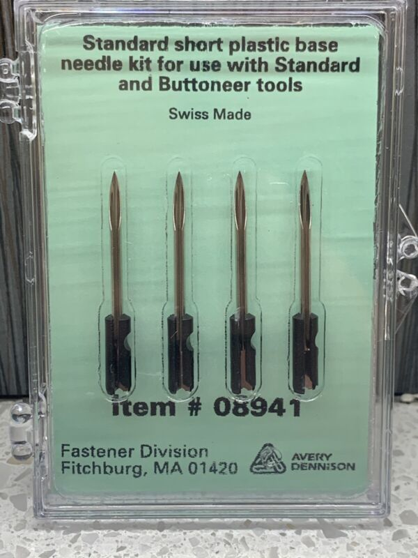 Avery Dennison 08941 Authentic Standard Replacement Needles NIB
