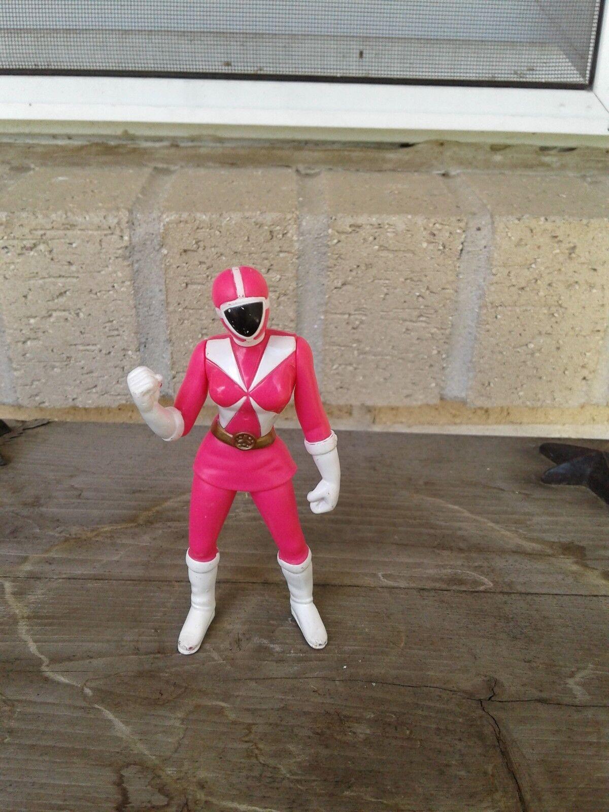 Pink Saban Power Ranger 2000 McDonald's Happy Meal Toy