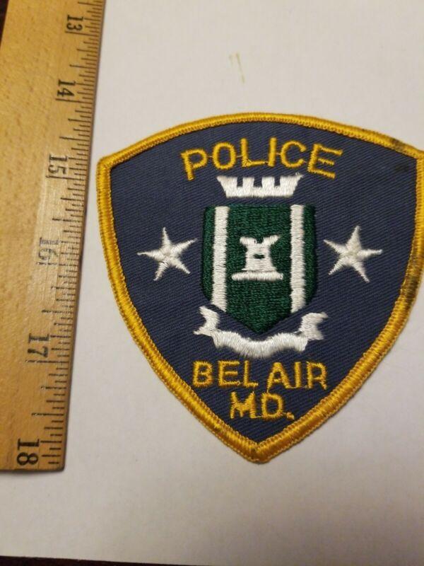 Older Obsolete Bel Air Maryland Police patch MD
