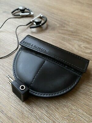 Bang & Olufsen Earbuds AirPlain Noise Cancellation Earphones With Leather Pouch