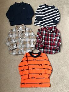Size 12-18 month shirts in excellent condition
