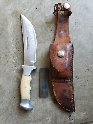 Super Rare 75+/- year old Rudy Ruana Knife with little knife stamp 1944 - 1962