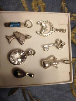 My silver jewellery stamped 925 italy