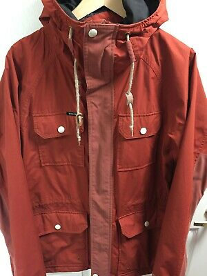 Holden Red Caravan Ski Snowboard Hooded Jacket Medium