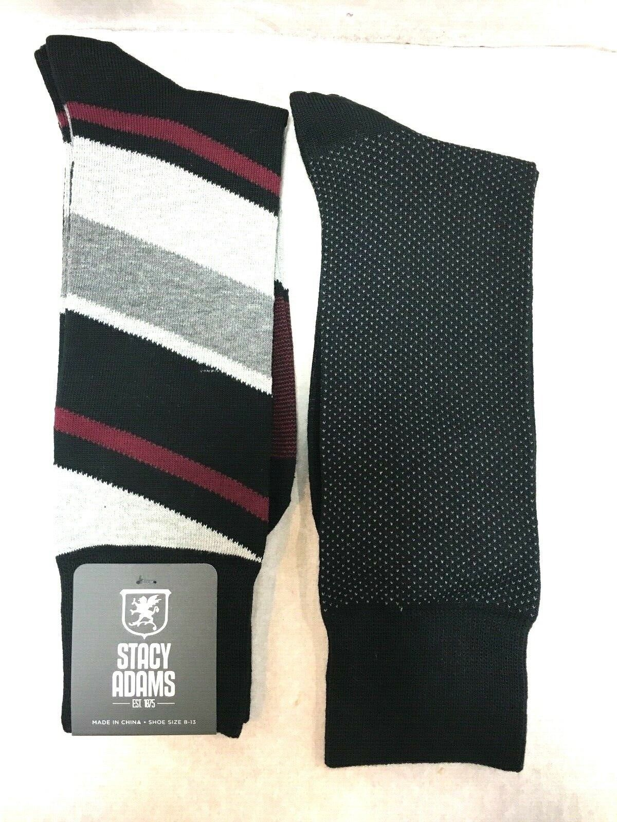 2 PAIRS PACK BRAND NEW WITH TAG MEN'S STACY ADAMS DRESS / CASUAL SOCKS Clothing, Shoes & Accessories
